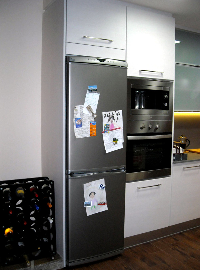 Electrodomésticos en columna