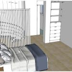 proyecto duplex dormitorio y baño